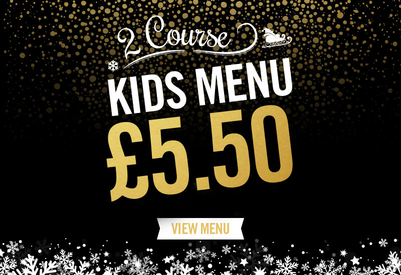 Kids Festive Menu at The Lauder's