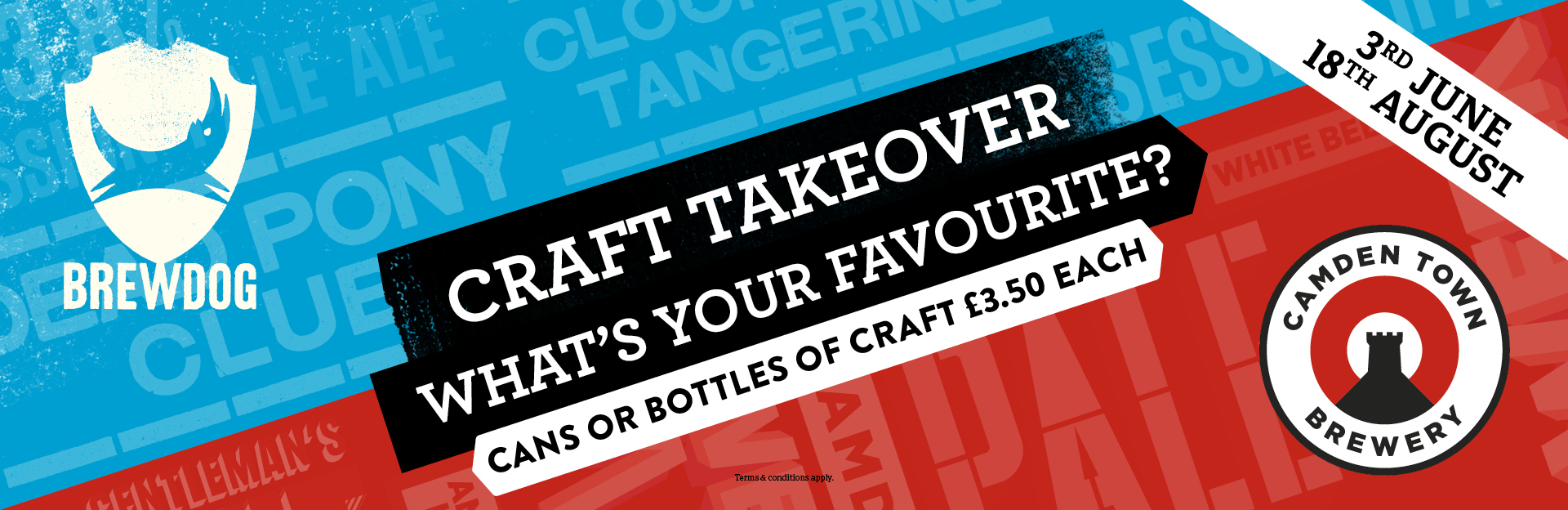 Craft Takeover at The Lauder's